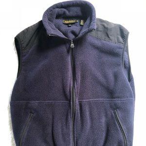 Navy Timberland Vest. Size small vest.